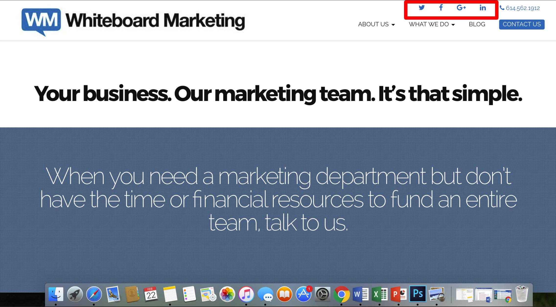 Whiteboard Marketing screenshot
