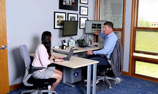 Whiteboard Marketing one-on-one meeting
