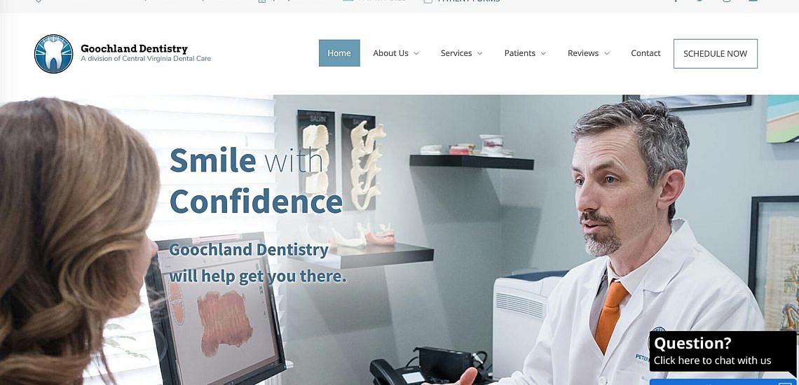Goochland Dentistry's homepage
