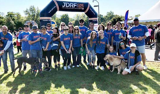 JRDF Walk Team Photo